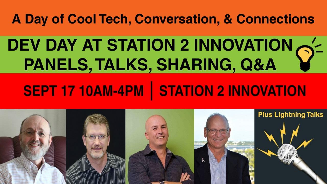 Station 2 Innovation Dev Day Dev Day Panel Talks